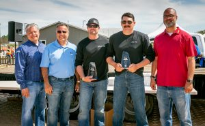 2nd place, two-man team: Manteca Gas Rats